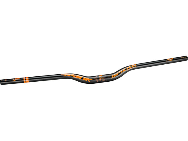 Spank Spike 800 Race Vibro Core Manillar Ø31,8mm 30mm, black/orange